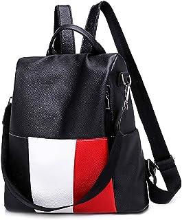 Leparvi Women Backpack Purse Anit-theft Daypack Leather Purse Girl Convertible Shoulder Bag Teen School