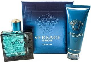 Versace Eros Fragrance Set, 2 Count