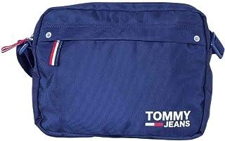 Tommy Jeans Donna - Borsa a tracolla in nylon blu scuro