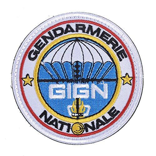 Weka Fashion Gendarmerie patch ricamo da spalla badge con Hook & Loop facile attaccato