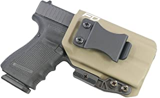 Fierce Defender IWB Kydex Holster Glock 19 23 32 w/Olight PL-Mini Valkyrie The Paladin Series -Made in USA- GEN 5 Compatible