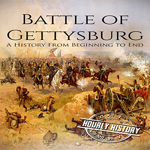 Battle of Gettysburg: A History From Beginning to End audiobook cover art