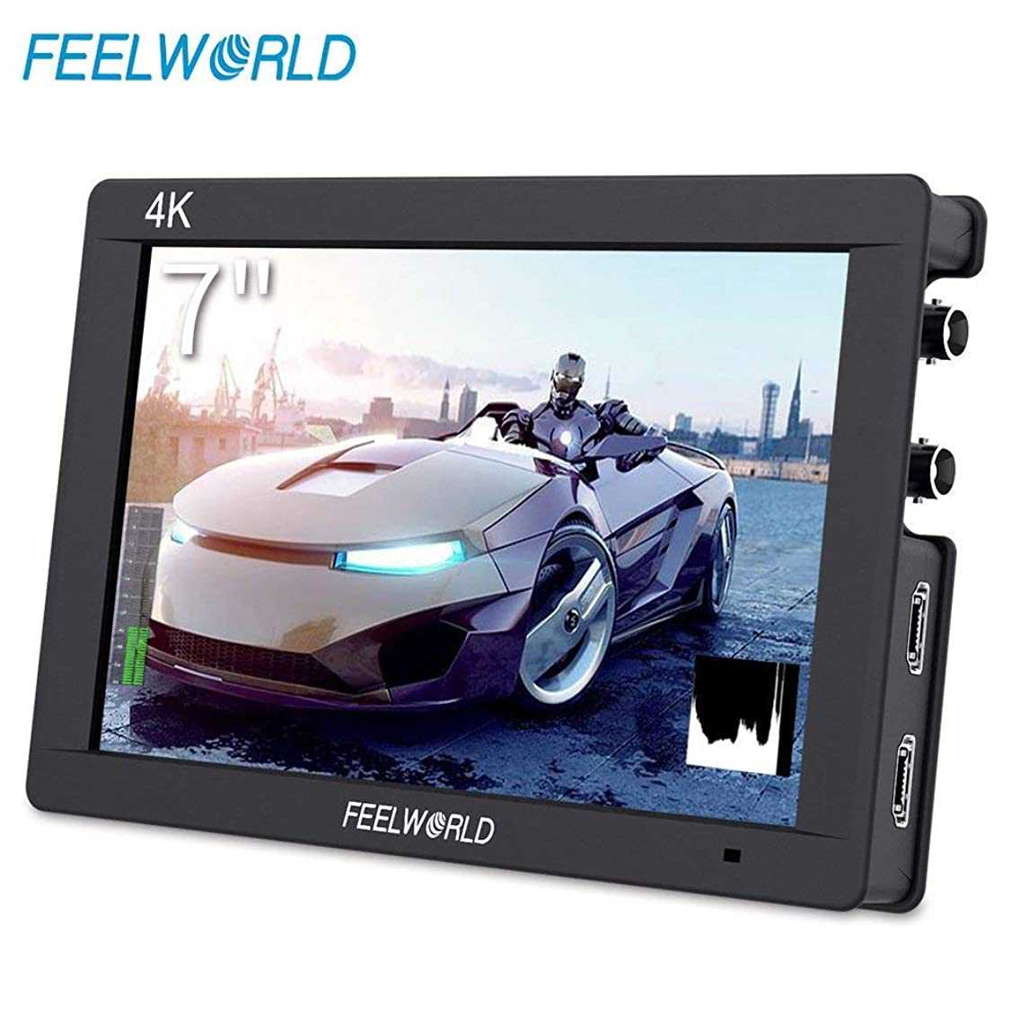 FEELWORLD FW703 7 Inch DSLR On Camera Field Monitor 3G SDI 4K HDMI Input Output Video Assist Peaking Focus IPS Full HD 1920x1200