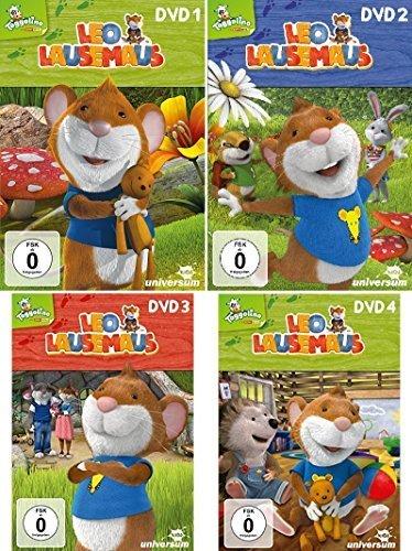 Leo Lausemaus - DVD 1 bis 4 im Set - Deutsche Originalware [4 DVDs]