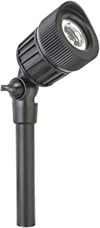 Sterno Home GL33006BK, Black Paradise Low Voltage LED Micro Spot Light,Adjustable
