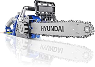 3 Year Platinum Warranty Blue Hyundai Powerful 1600W 230V Electric Chainsaw 3 Metre Power Cable 500ml Chainsaw Oil HYC1600E 14 Inch Guide Bar and Chain