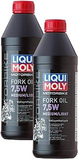 2x LIQUI MOLY 2719 Motorbike MotorradFork Oil Gabelöl Stoßdämpfer 7,5W medium