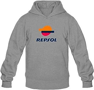 TIANRUN Men's Repsol Honda Logo Hooded Sweatshirt