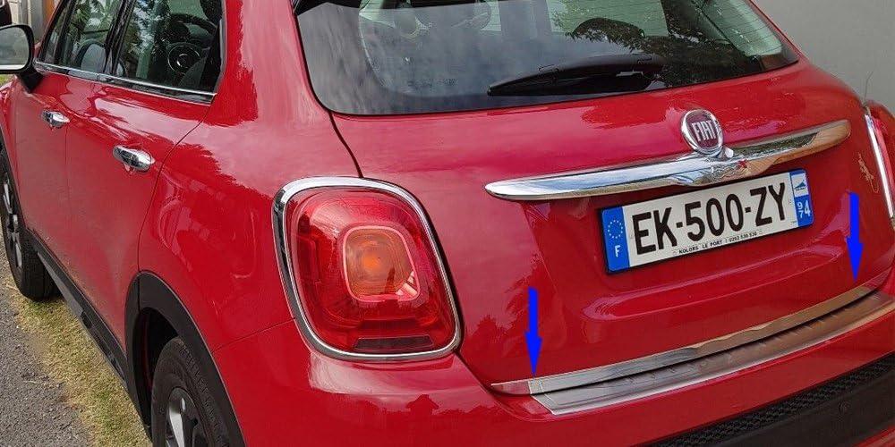 ByMauto Fiat 500X Cheap bargain Stainless Steel Rear LID Door Tailgate C 5 ☆ popular Trunk
