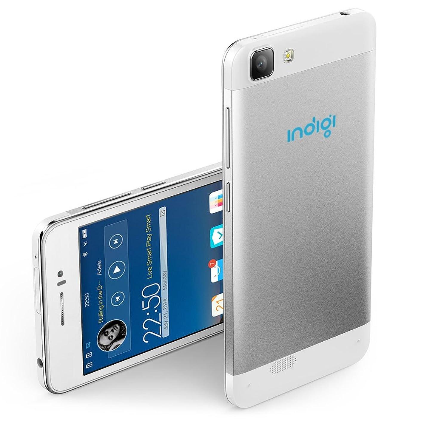 Indigi Unlocked Android Smartphone (White) 5.5