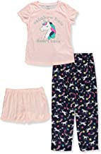Carter's Girls' 3-Piece Poly Play Pajama Set