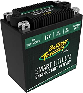 Battery Tender 5.0AH 300CA Lithium Engine Start Battery w/Smart BMS