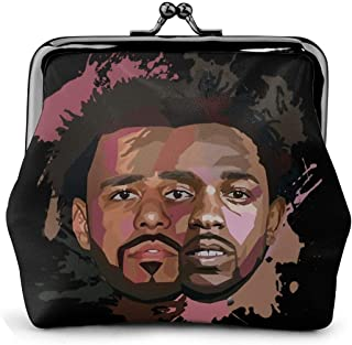 J. Cole And Kendrick Lamar Women Girl Cute Classic Exquisite Buckle Coin Purse Pouch Wallet