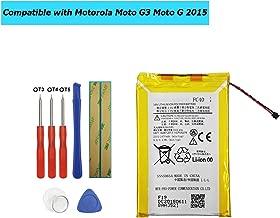 Upplus FC40 Replacement Battery Compatible with Motorola Moto G3 Moto G 2015 XT1540 XT1541 XT1543 XT1544 XT1548 PL482730 Toolkit