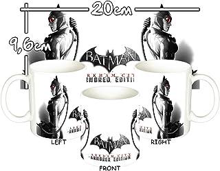 MasTazas Batman Arkham City Armored Edition Catwoman B Taza Mug