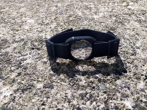 Brazalete protector sensor glucosa Freestyle Libre 2 LibreLink (Diabetes) (Negro)