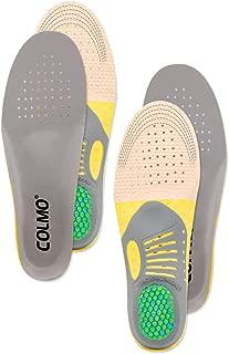 [COLMO] インソール 中敷き 衝撃吸収 疲労軽減 抗菌 防臭 通気 人間工学 アーチサポート 足底筋膜炎 偏平足 スポーツ用 立ち仕事 サイズ調整可能 男女兼用