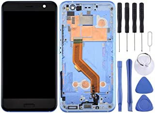 SHUHAN LCD Screen Phone Repair Part LCD Screen and Digitizer Full Assembly with Frame for HTC U11 Mobile Phone Accessory