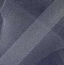 Falk Fabrics 108in Apparel Grade Tulle Diamond White Fabric by The Yard, Waterfall