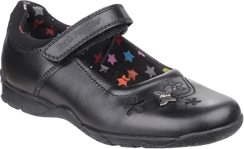 Hush Puppies Womens Clare Back to School shoes Black Size UK 10.5 EU 28.5