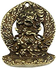 Statues Statue Collection Brass Carved Tibetan Buddha Black Sky Buddha Small Pendant Statue Gift