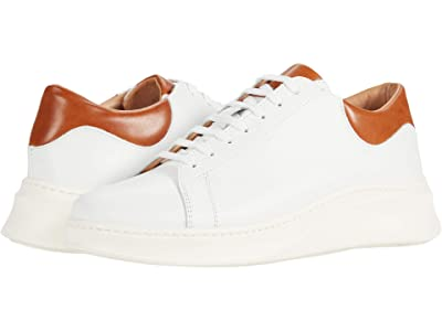 eleventy Leather Lace-Up Sneaker