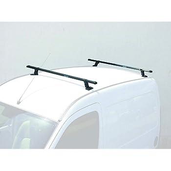 Pour Fiat Doblo I Alu Barres de toit Porte-bagages gris avec TÜV Abe ELEGANCE
