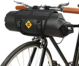 USspous Large Capacity Bicycle Handlebar Bag Storage Basket Full Waterproof Mountain Bike Adjustable Quick Release Front Frame Bags Multi-Function Cycling Rack Bag Cargo Bag for Outdoor