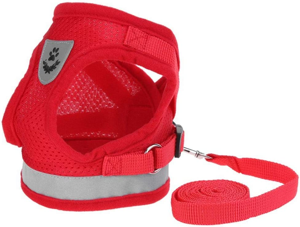 ZYYC Cat Vest Harness Leash Cheap super special price Dogs Kitten Leads Puppy Cheap mail order sales Set