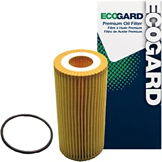 ECOGARD X10260 Cartridge Engine Oil Filter for Conventional Oil - Premium Replacement Fits Volkswagen Jetta, Passat, GTI, Beetle, Golf, Golf SportWagen, Golf R, Golf Alltrack / Audi A3 Quattro, A3