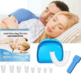 Charminer Dispositivos contra los ronquidos Consejos para la Nariz Dilatadores nasales Ronquido Tope Facilidad para Respirar Suspensión de la solución para Dormir Productos de Asistencia
