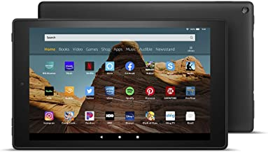 "Fire HD 10 Tablet (10.1"" 1080p full HD display, 64 GB) – Black - without Special Offers"