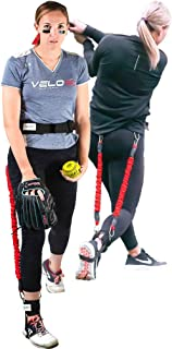 Velopro Softball Training Harness | Resistance Hitting & Pitching Trainer Adds 4-6MPH of Batting...