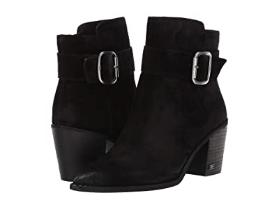 Sam Edelman Leonia (Black Velutto Suede Leather) Women