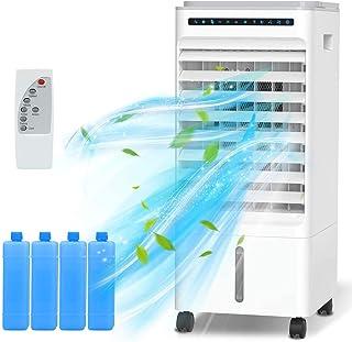 comprar comparacion Nobebird Aire Acondicionado, 4 en 1 Móvil Climatizador Evaporativo Ventilador Humidificador Purificador, con Ruedas y Tanq...
