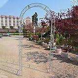 Arco De Rosas, Jardín, Patio, Exterior, Metal Negro, Decorativo, Arco como...