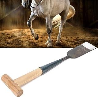 Horseshoe Clip Shovel, Clipping Steel Horseshoe Shovel, Trimming Firm Farm for Horseshoe Livestock Home