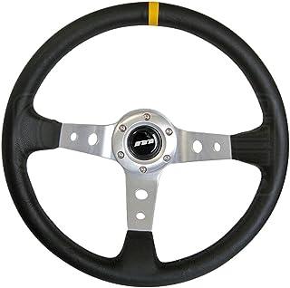 D Shaped Blank Center Black Anodised Centre 3 Spoke Mountney M25X3663B//S M Range Steering Wheel Black Alcantara Finish 250 mm in Size