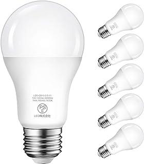 LED電球 E26口金 100W形相当 14W 1500LM 電球色 3000K 広配光タイプ 省エネ 高輝度 3年安心保証 6個入 調光器非対応