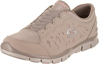 Skechers 女士 Gratis Light Heart 时尚运动鞋