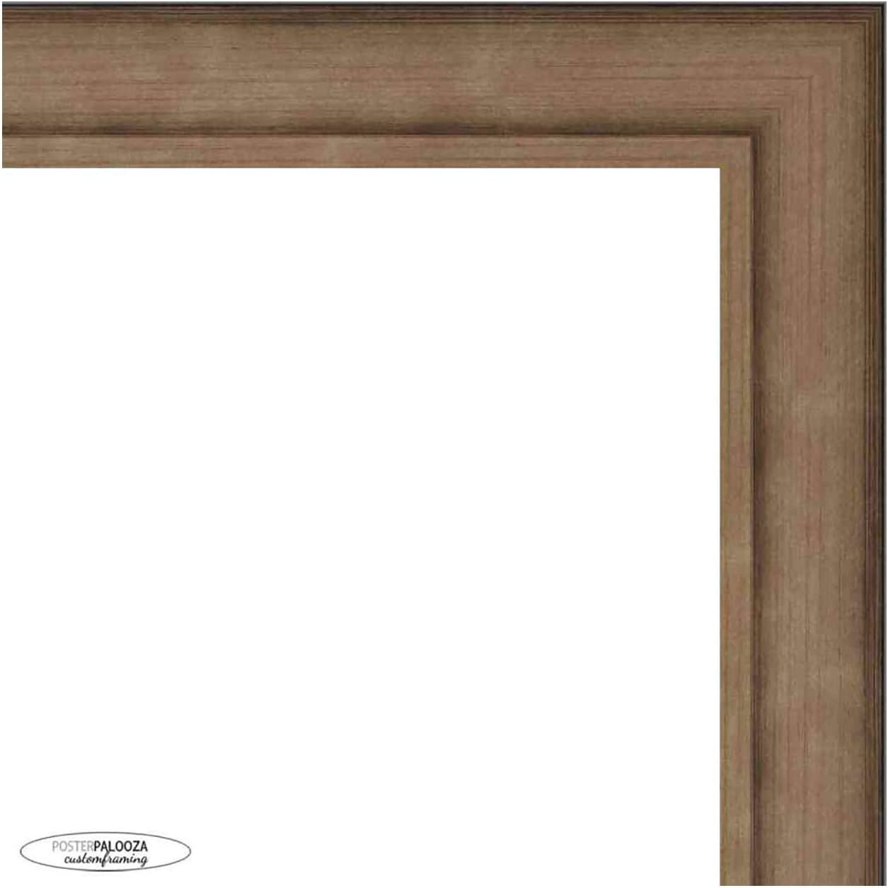 30x20 Traditional Pewter Complete Wood with Picture Acr Frame Limited time for free shipping Tampa Mall UV