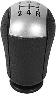 5 Speed Gear Knob, Car Gear Shifter Stick Lever for Ford Focus Mondeo MK3 S-MAX New Grey(Grey)