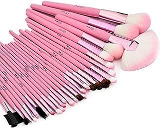 Glow 30 makeup brushes set (30 makeup brush set, Pink)