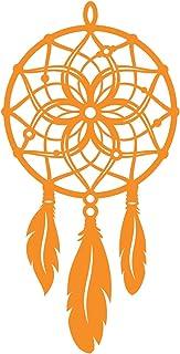 Awareness dream catcher with feathers decal sticker, missing aboriginal children awareness sticker, orange ribbon, Memoria...