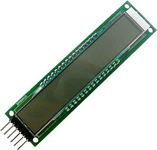 KKmoon LCDディスプレイボード 10ビット 16セグメントモジュール 10ビットデジタルセグメントチューブ SPILCDディスプレイモジュール ブルーバックライト