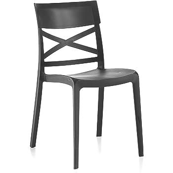 sedie impilabili in legno e propilene on line