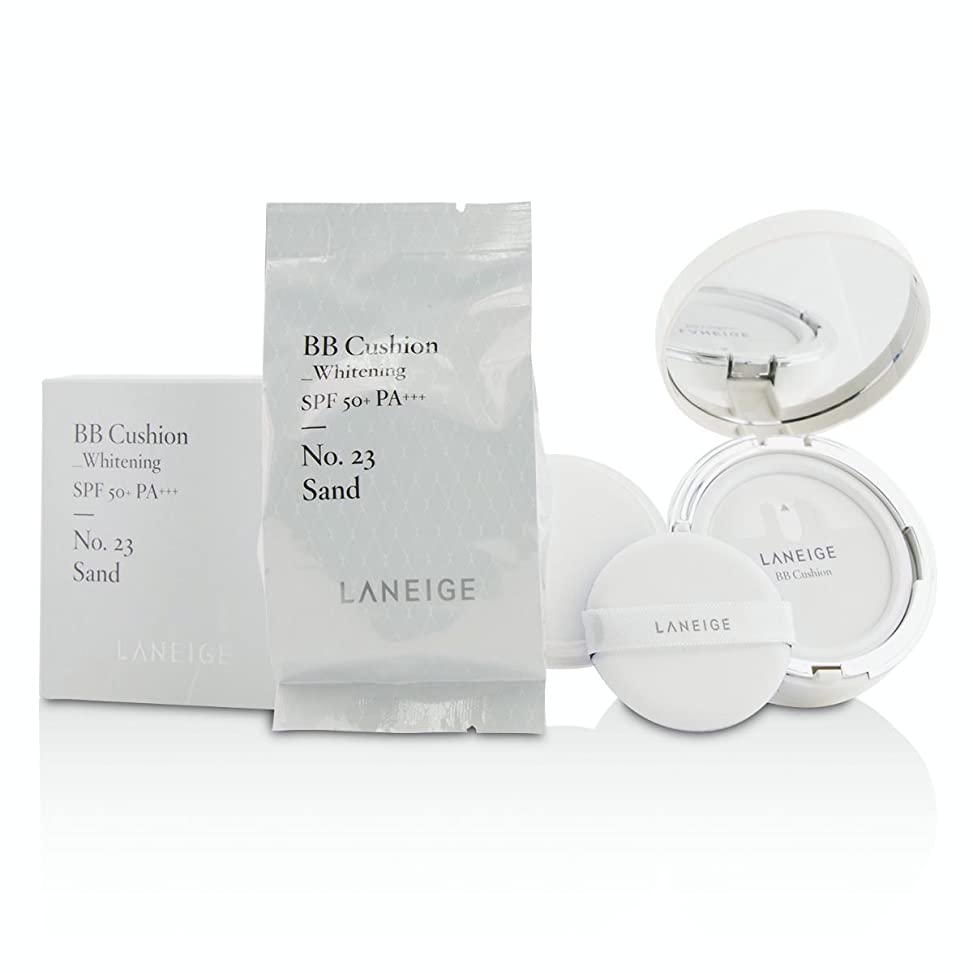 少ないどこにもヒロイック[Laneige] BB Cushion Foundation (Whitening) SPF 50 With Extra Refill - # No. 23 Sand 2x15g/0.5oz