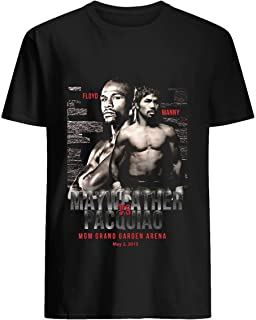 mayweather vs pacquiao t shirt