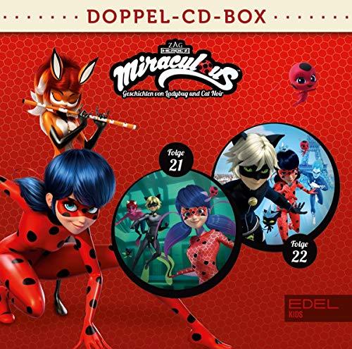 Miraculous - Geschichten von Ladybug und Cat Noir - Doppel-CD-Box (Folgen 21 + 22)