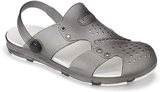 Earton Sports Sandal, Casual Sandal, Floater Sandal, Clogs,Multicolour Sports Sandals, Light Weight,Party Sandal, Comfortable for Men's/Boy's (Black-2202)